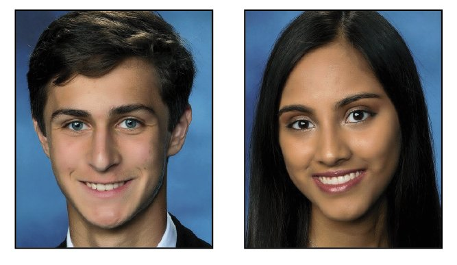 Aiden Sessa and Aayushi Patel