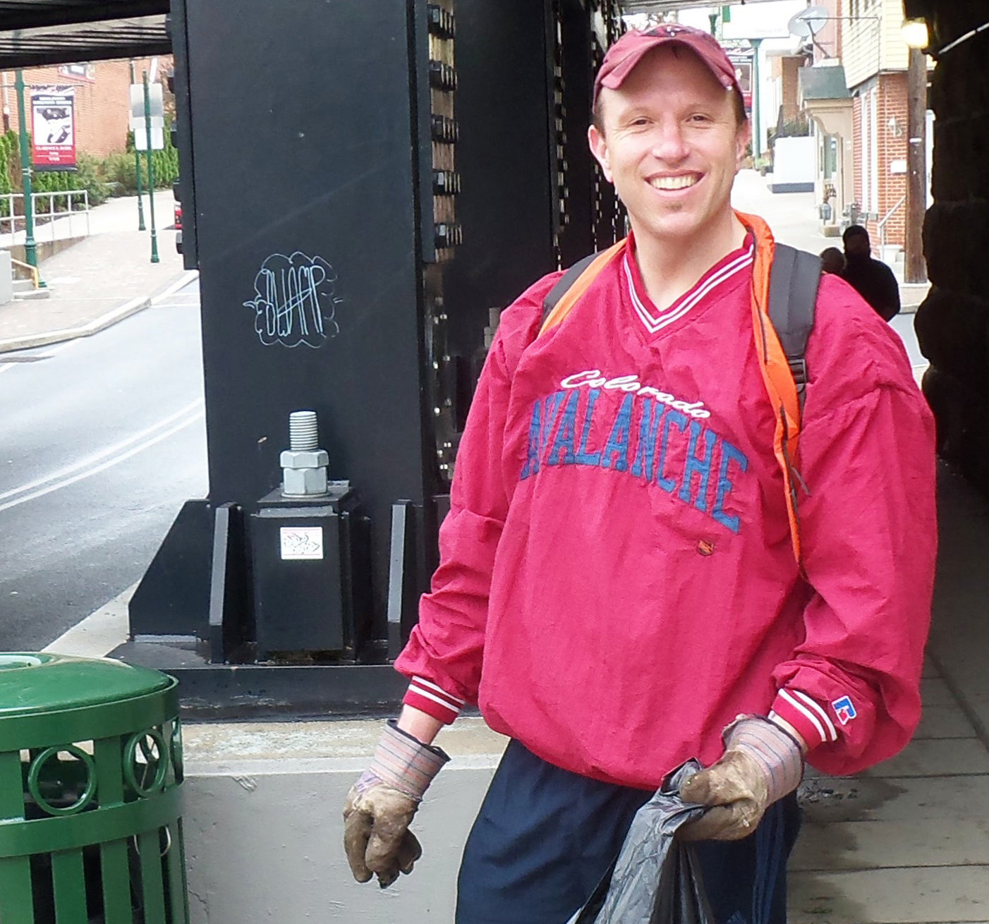 Scott Sites helps out during Middletown Communities That Care's first Community Clean-Up Day on May 4. Sites formerly served on Middletown Borough Council and appears to have earned enough write-in votes to be on the ballot as a Republican in November.