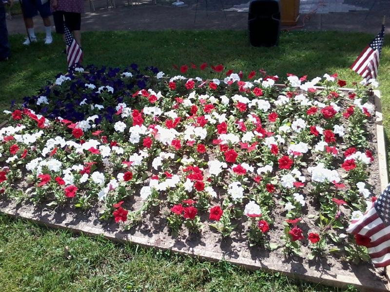 A new flower box was added in front of the Highspire War Memorial in Highspire Memorial Park off Lumber Street in this photo taken on May 27 during the Memorial Day Service.