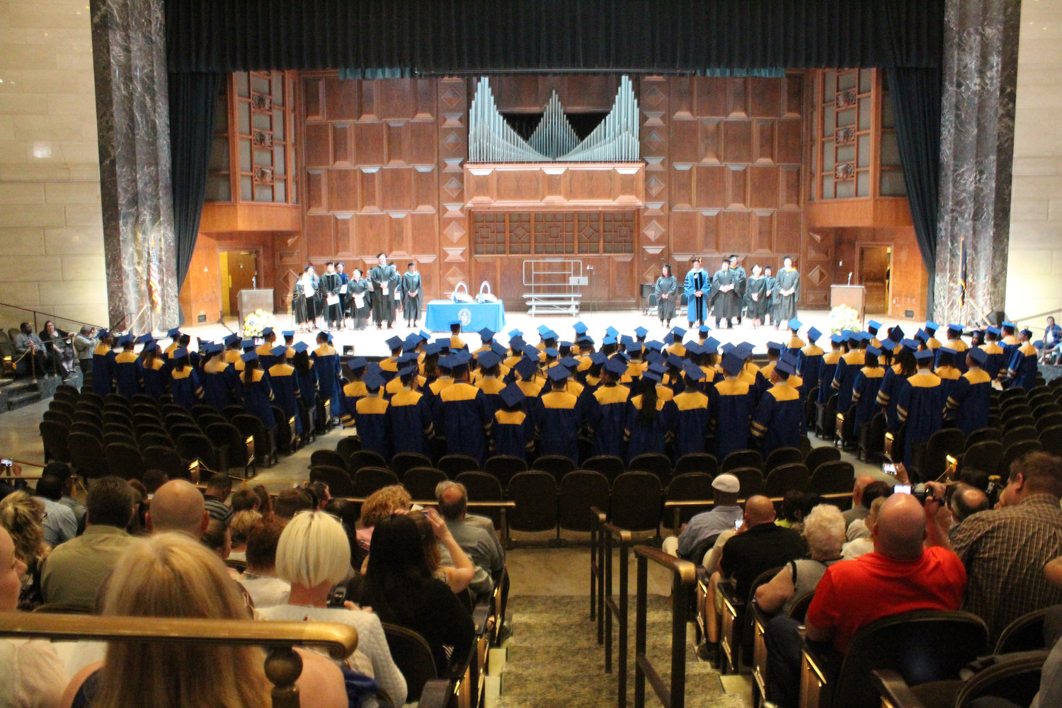 MAHS seniors had their graduation in the Forum in Harrisburg on June 4.