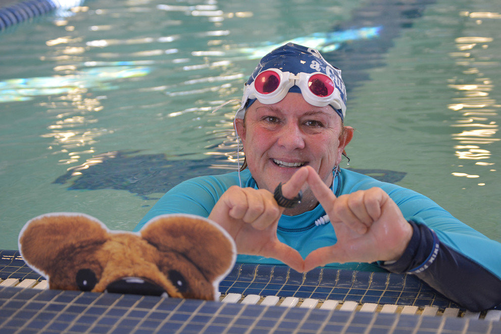 Holly Maitland-Mckenna is set to swim the English Channel this month. Her swim will benefit THON and Four Diamonds.