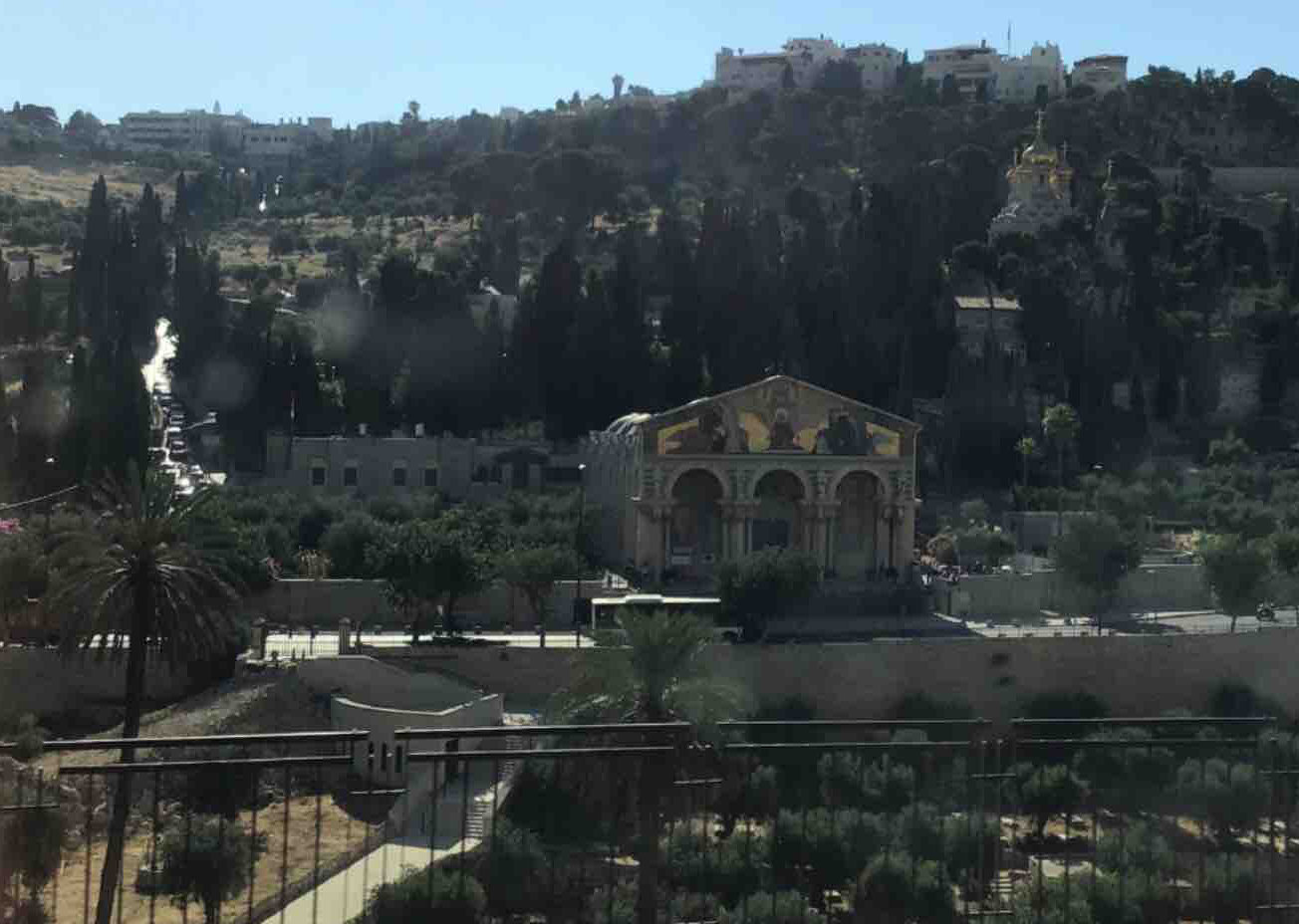 View of Kidron Valley.