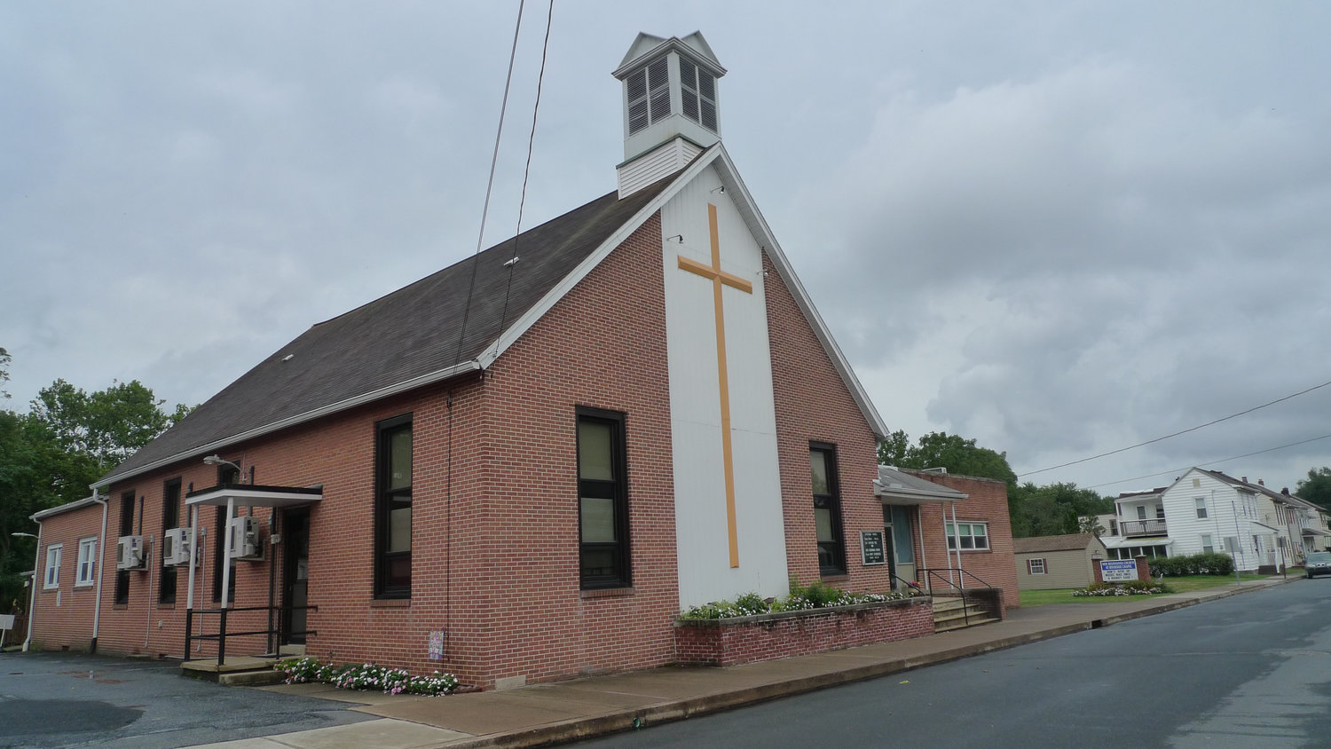 The cross was stolen from on the grounds behind the New Beginnings Church at 630 S. Union St. in Middletown.