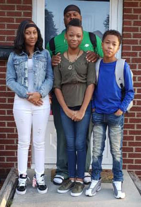 Adazhay Allsup, freshman, Middletown Area High School; Adamiya Allsup, sixth grade, and Adomani Allsup, seventh grade, Middletown Area Middle School