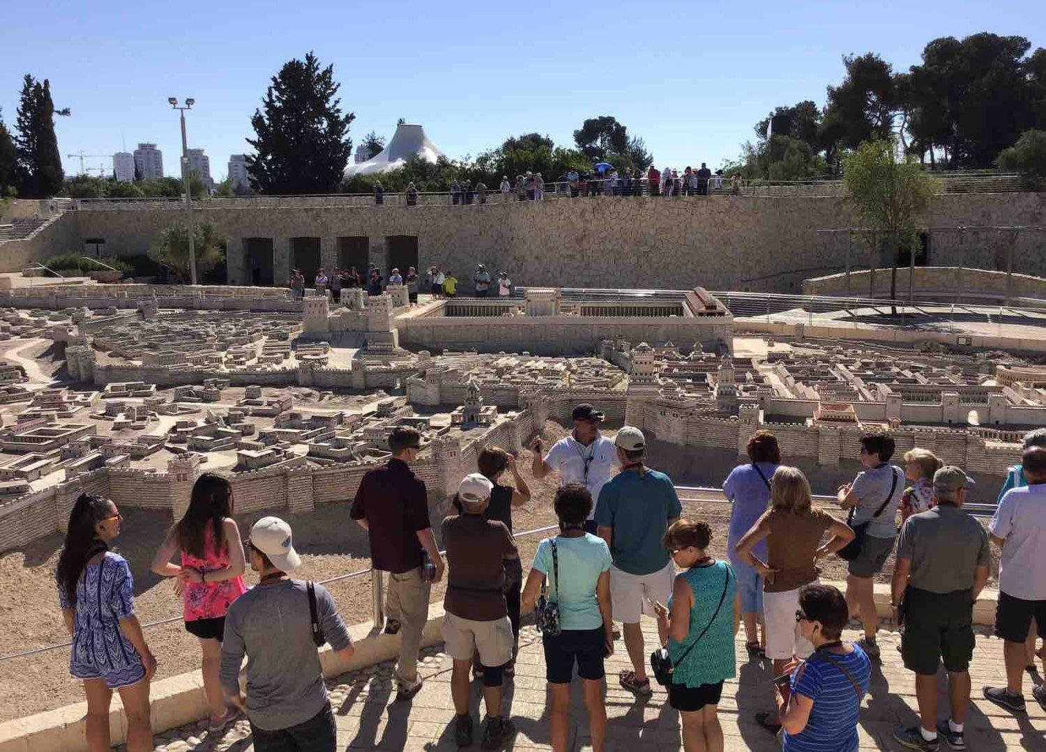 The Israel Museum complex includes this extremely impressive scale model of Jerusalem in the Second Temple Period.