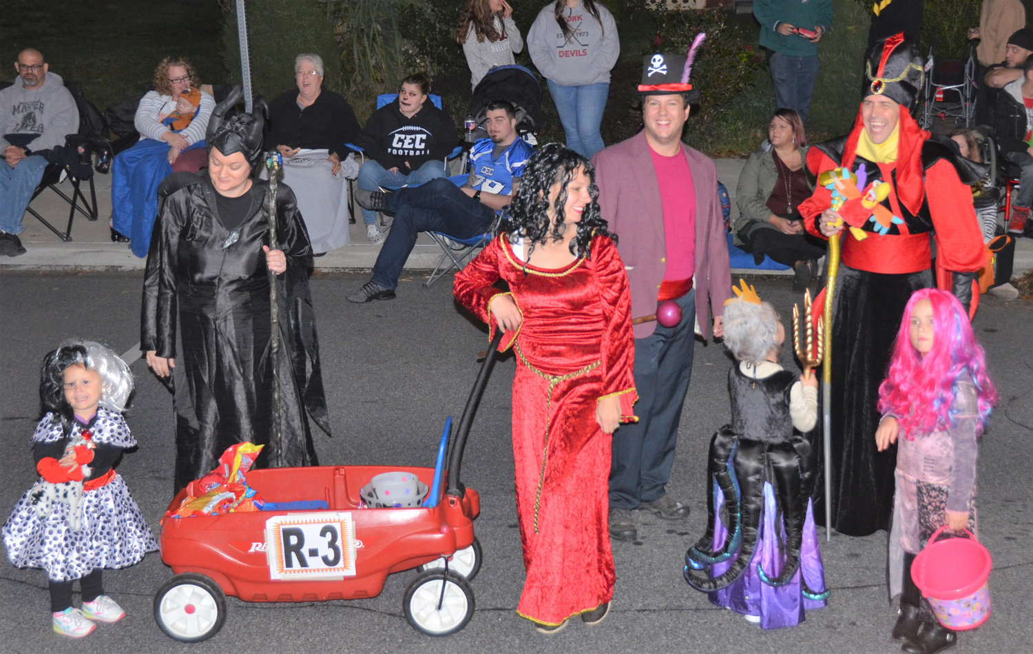 Disney Villains took first place in the Original Group category in the 66th Kiwanis Club of Middletown's 2019 Halloween Parade.