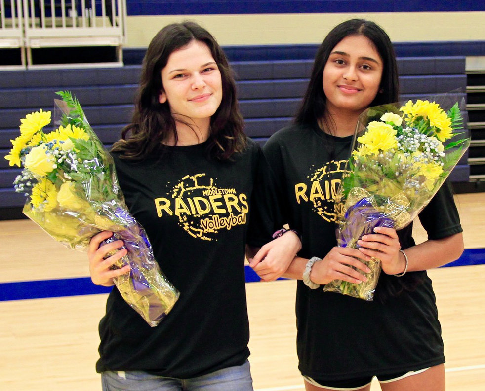 Isabella Stillo and Vidi Patel
