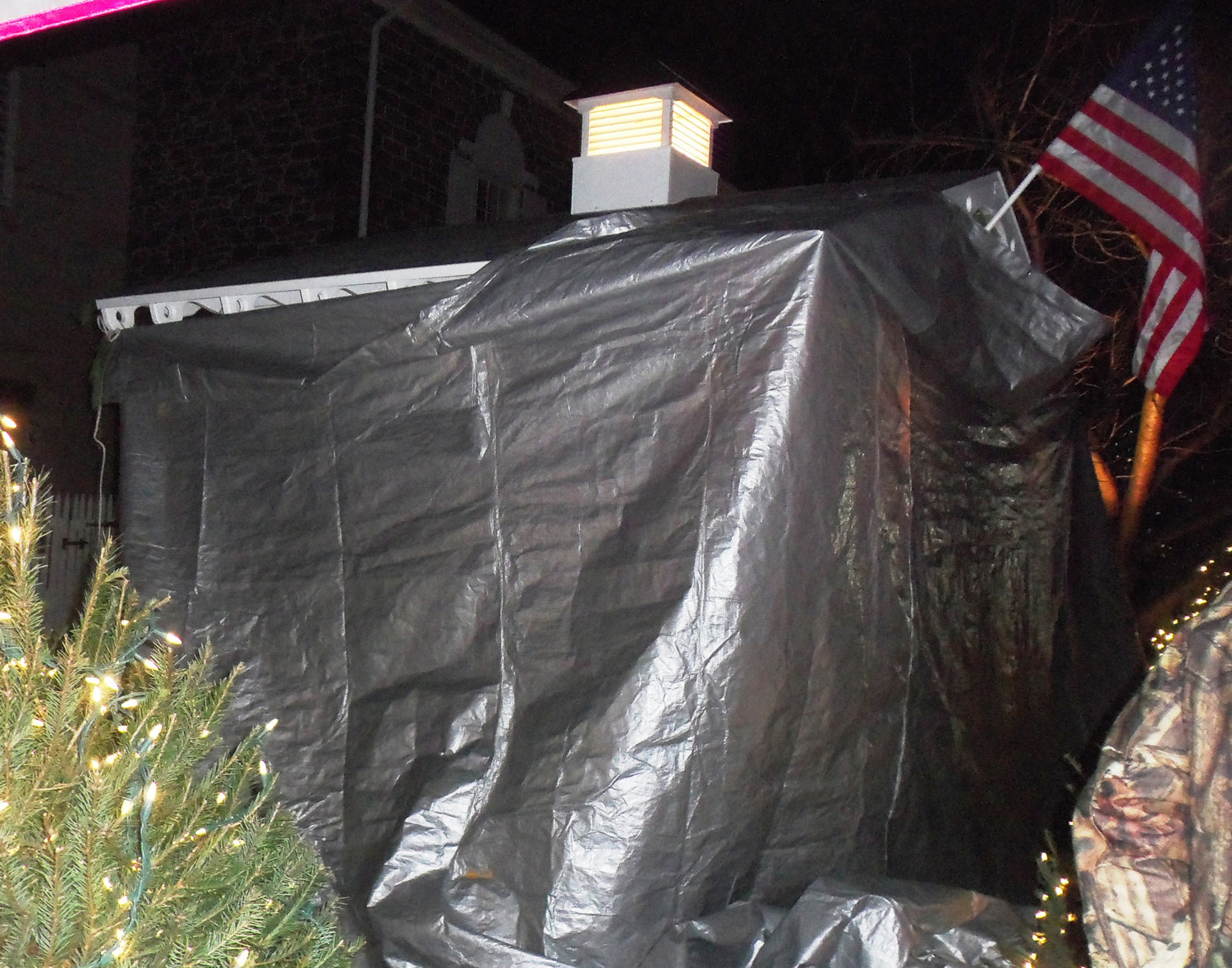 Middletown's new Santa house remained under cover until it was unveiled directly before the borough's tree-lighting ceremony on Saturday night, Nov. 30..