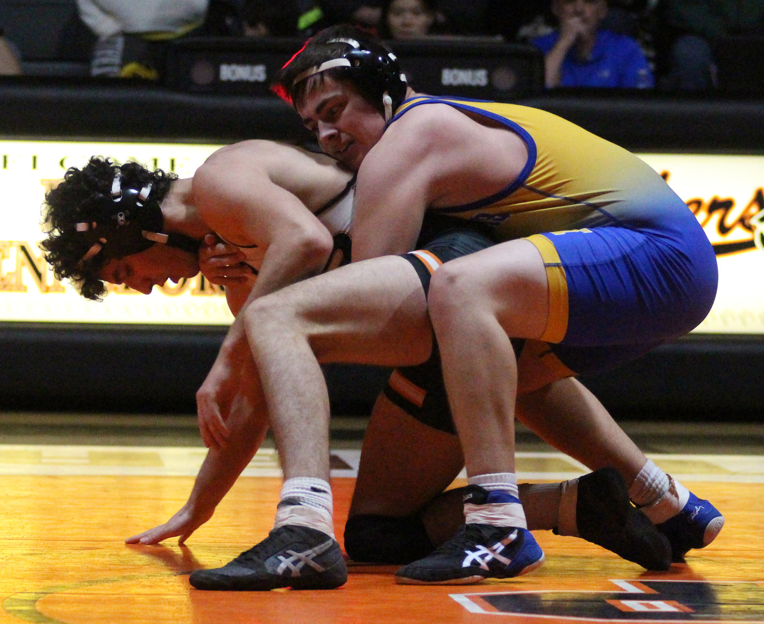 Ayden Miller vs. Jonah Bower of East Pennsboro.