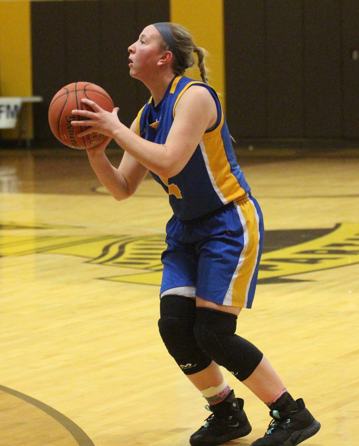 Kate Fitzpatrick shoots a 3-pointer Feb. 4 against Milton Hershey. She made eight in the game.