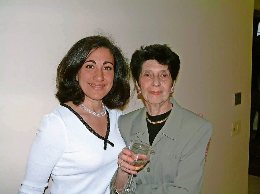 Colette Coman, right, died July 21.