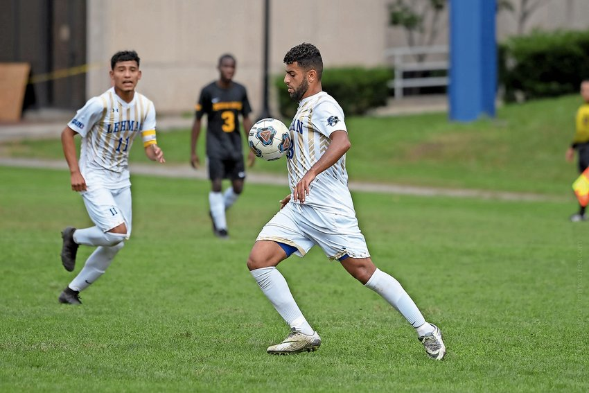 Lehman senior forward Salh Alzubidi enjoyed a stellar career with the Lightning, one that included being named CUNYAC player of the year last season. But that career came to an end in the Lightning's loss to Baruch in the conference tournament semifinal.