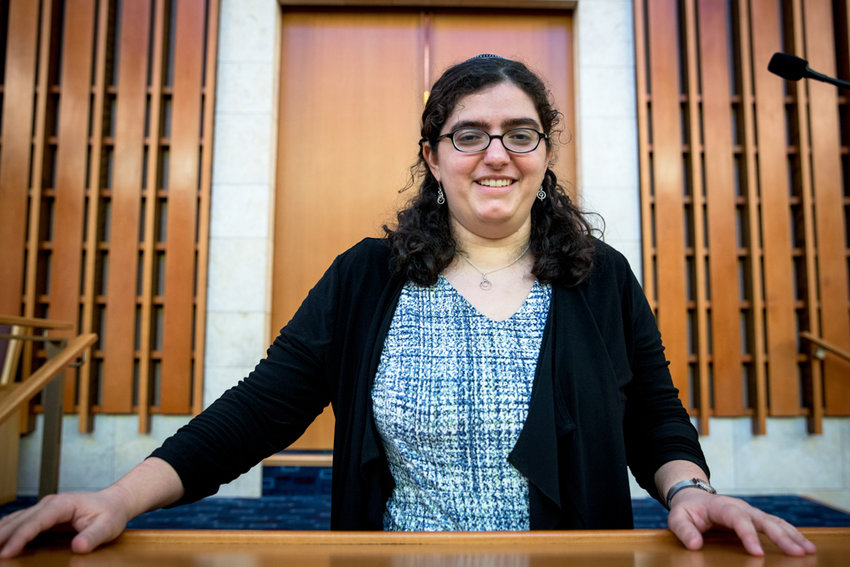 Rabbi Katie Greenberg is the new engagement and programming director at the Conservative Synagogue Adath Israel of Riverdale.