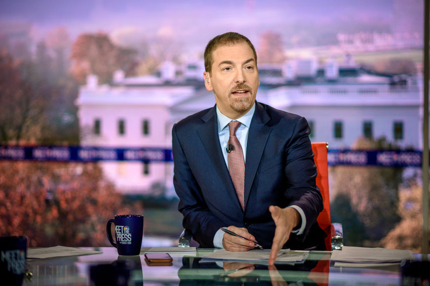 Chuck Todd, host of NBC's 'Meet the Press,' will make an appearance at The Riverdale Y on Jan. 15 for 'An Evening with Chuck Todd,' where he'll discuss the future of politics and the media's current role in America.