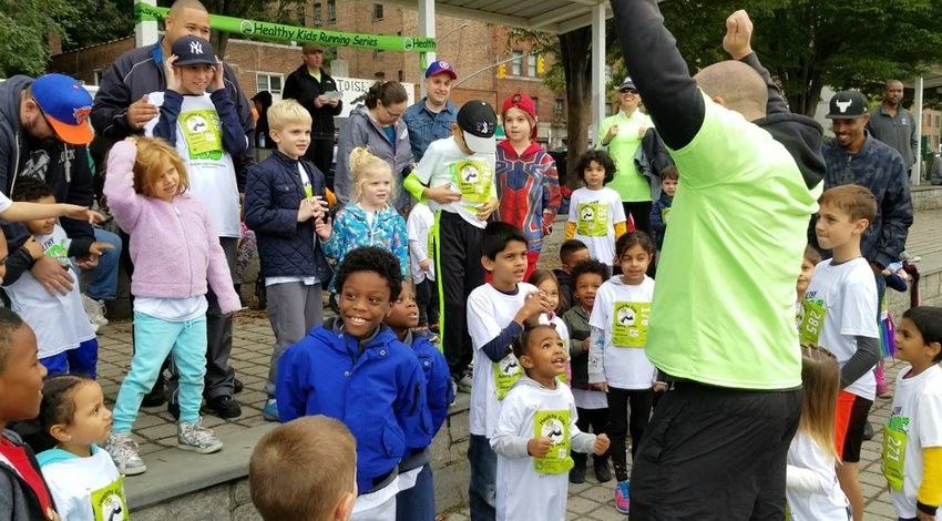 The Healthy Kids Running Series caters to kids between 2 and 14. The first race of the spring season takes place March 31 in Van Cortlandt Park.