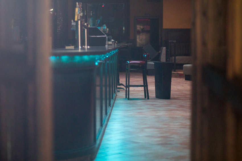 A lone bar stool sits next to the bar inside Barcelona Bites, the clubby West 242nd Street tapas lounge where — to the chagrin of some neighbors — parties pulsed well past midnight on weekends. Until, that is, the joint recently shut down, owing in part to the fact the state's liquor authority said it no longer could legally serve booze, a decision Community Board 8 played a part in.