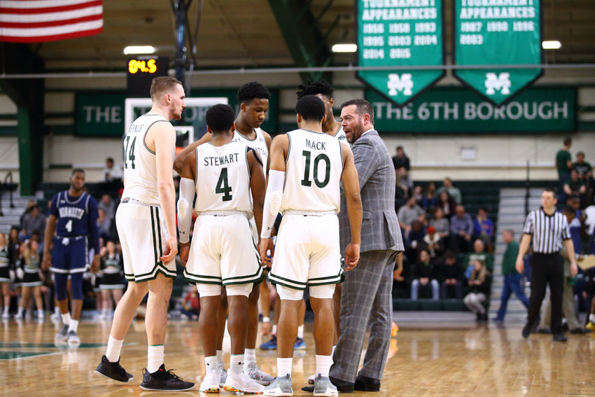 Manhattan head coach Steve Masiello will guide a very young Jaspers team into their first postseason experience when they head north for the MAAC tournament in Albany this week.