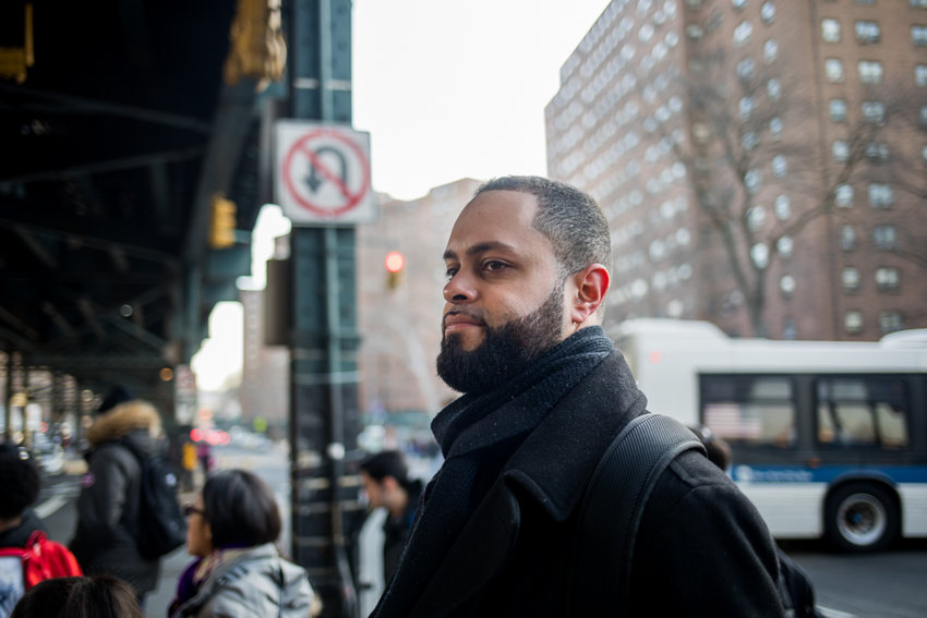 Juan Nuñez began advocating on behalf of beleaguered tenants around 2010, and now serves as tenant leader at 2770-80 Kingsbridge Terrace, where he's lived for more than a decade. Evictions in the city are down nearly 10 percent compared with last year, according to housing data site RentHop, but Nuñez argues some landlords still exploit various means to displace tenants.