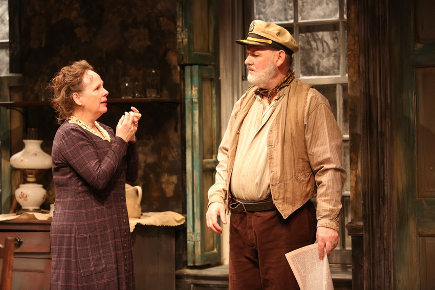 Maryann Plunkett and Ciarán O'Reilly bring a Sean O'Casey classic to life with 'Juno and the Paycock' at the Irish Repertory Theatre.