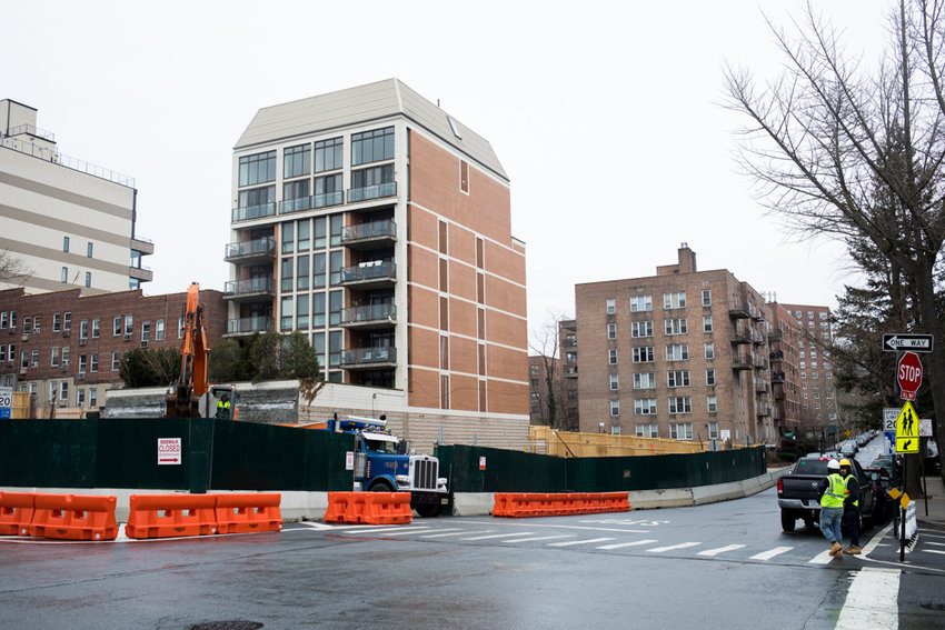 For some neighbors, it feels as though there's no end in sight for construction happening at the corner lot where Blackstone Avenue meets West 237th Street — and local motorists hunting for parking are bearing the brunt of it. Beyond the noise, the construction has nixed some 20 parking spots from a neighborhood where such space is already scarce.