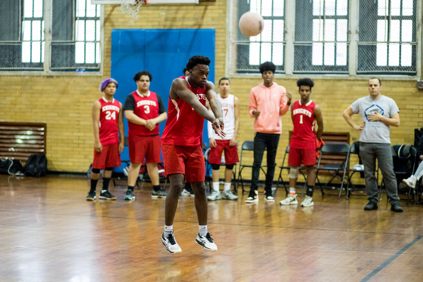 Daniel Hamilton logged six kills and four service points for Kennedy, but it wasn't enough to avoid a three-set loss in the PSAL playoffs.