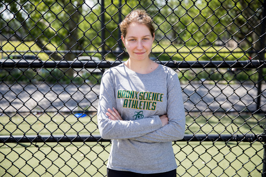 Brett Zakheim was a three-sport start at Bronx Science. Her career included one tennis city championship and deep playoff runs with the softball and basketball teams.