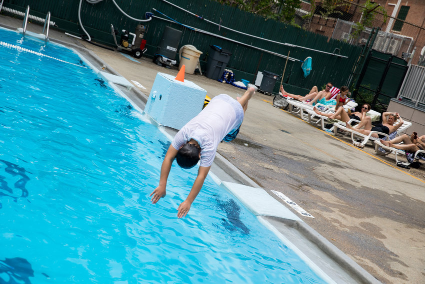 While New York and surrounding states are expected to open beaches for Memorial Day, pools — like the one at Riverdale Neighborhood House — will remain closed.