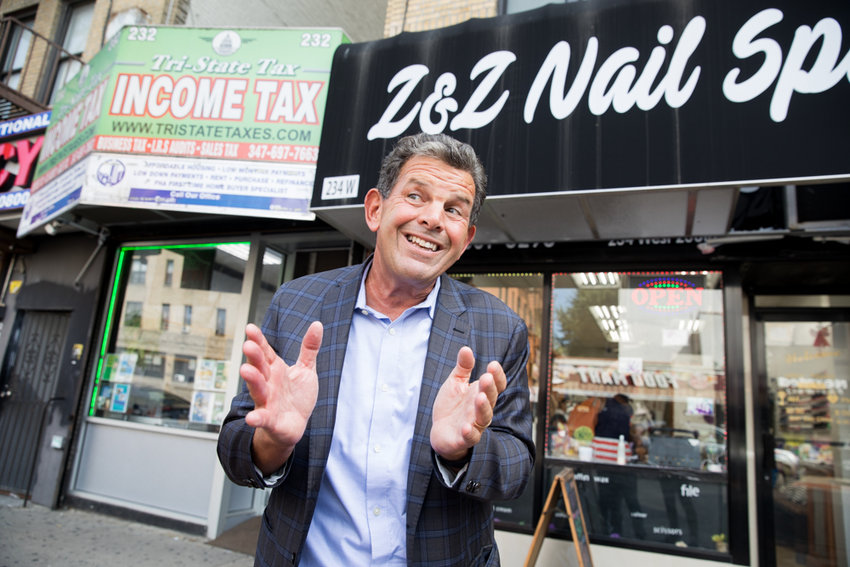 Rob Walsh, former commissioner for the city's small business services department, is flummoxed by what he describes as the Kingsbridge Business Improvement District's seeming unwillingness to expand further north along Broadway to encompass businesses as far north as West 242nd Street.