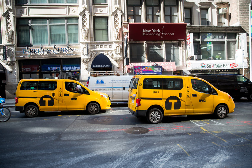 Yellow taxi drivers notched a victory in their ongoing war with ride-hailing services, like Uber and Lyft, after the Taxi and Limousine Commission voted to extend the cap on the number of ride-hailing vehicles on the city's streets and curbed the amount of time those drivers could spend cruising without a passenger.