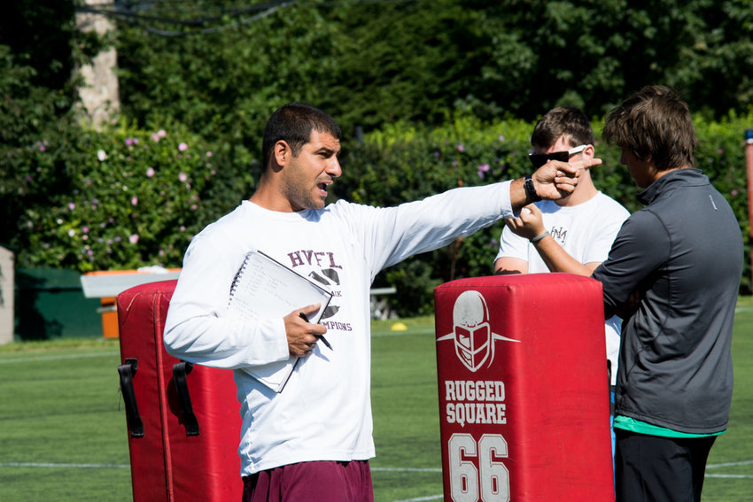 Horace Mann head football coach Matt Russo may have to do more teaching than usual this season after his two-time defending Ivy League champion Lions graduated 19 players from last year's team.