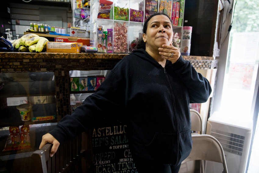 Suzie Peña, co-owner of Ismael's Gourmet Deli, has faced significant challenges since opening less than a year ago. In March, her family's then-kitten Luna was stolen from the deli before ultimately being returned a week later. Then on Sept. 6, her deli was one of several businesses near Bailey Avenue and West 238th Street burglarized overnight.