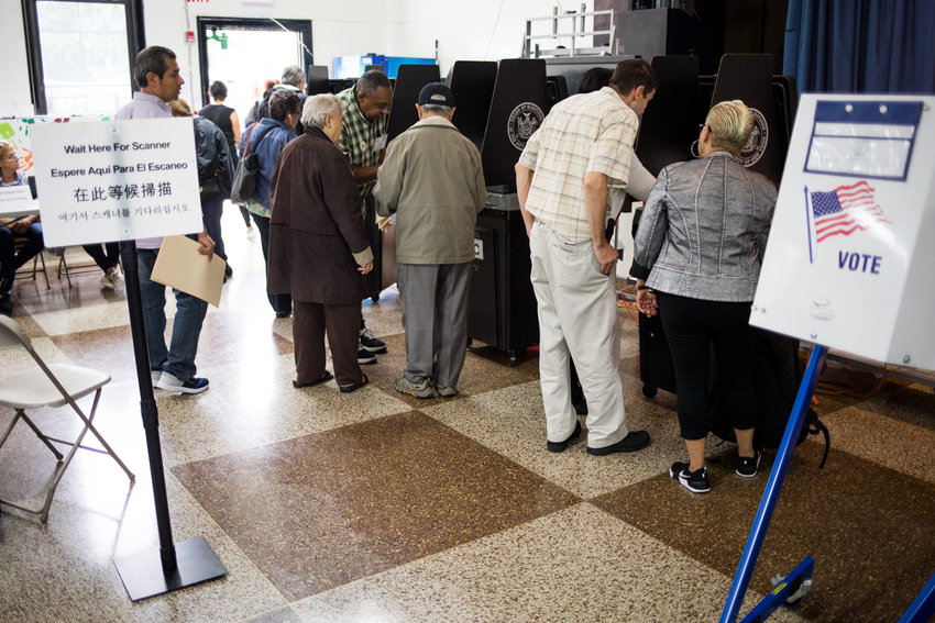 Although many voters had hoped to avoid going to the vote in-person on Tuesday, because many have not received their absentee ballots, they may not have a choice.