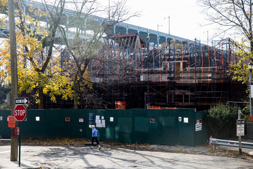 Neighbors have fought tirelessly to save the historic Villa Rosa Bonheur, but it seems demolition is inevitable so that developers can construct a much larger apartment building on Palisade Avenue in its stead.