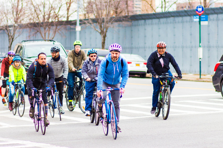 In Councilman Ydanis Rodriguez's ideal world, more people in the city would rather bike or walk than drive cars. To that end, he and Councilwoman Carlina Rivera have proposed creating a 'department of active transportation' and a 'department of pedestrians' within the mayor's office that would work toward making the city safer for people who don't drive.