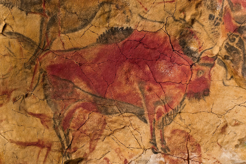 The Cave of Altamira in Spain was originally thought to be the work of humans as we known them today, but are now believed to be the work of Neanderthals.