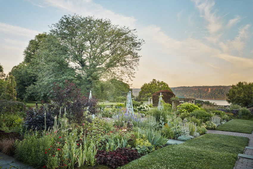 The coffee table book 'Nature Into Art' shows Wave Hill in all its horticultural grandeur.