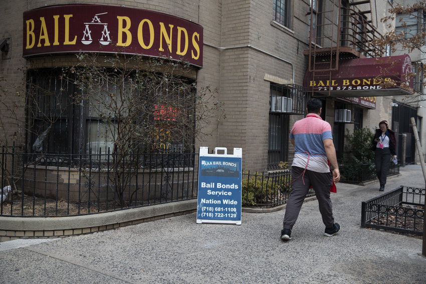 A law passed last year eliminated cash bail statewide for low-level crimes, misdemeanors and non-violent felonies. It's a first step, advocates say, to treat people fairly — even those who are incarcerated.