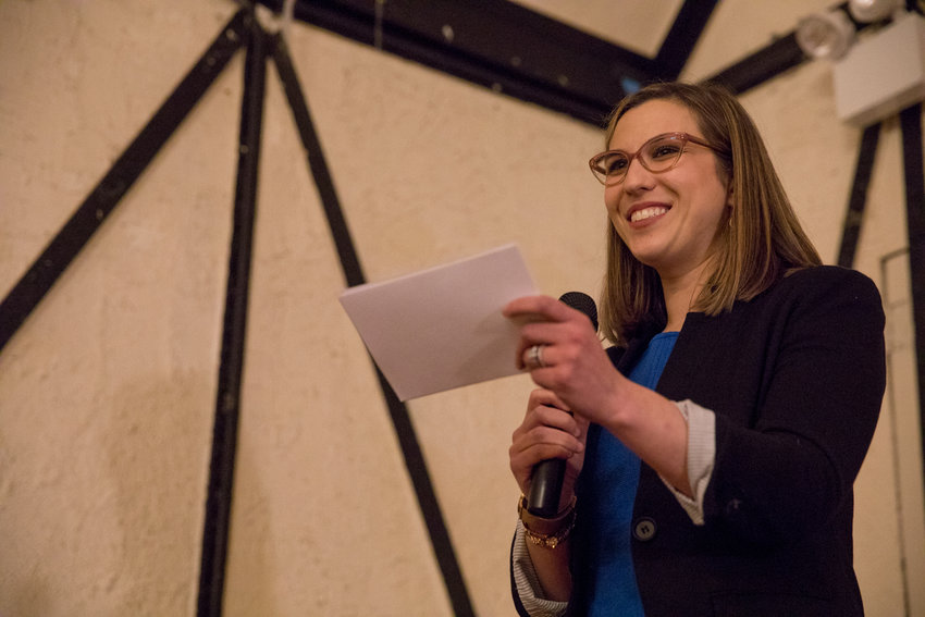 Morgan Evers, who tried earlier this year to become the new president of the Benjamin Franklin Reform Democratic Club, is starting a new group she says complements the existing club, not competes,