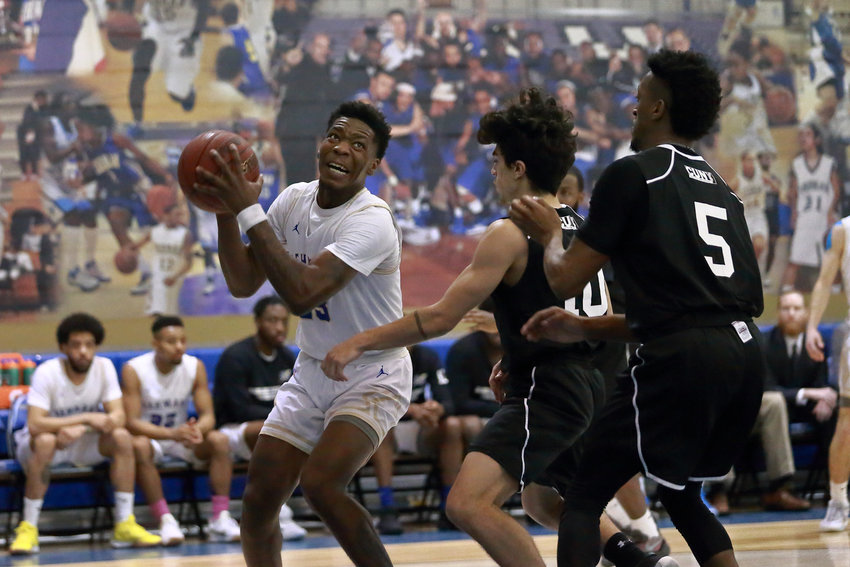 Isaiah Geathers poured in 19 points in Lehman's regular-season finale win over City College, then added 20 more in a playoff win over Medgar Evers last week.