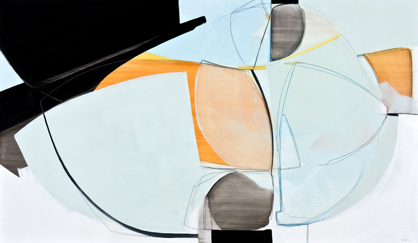 Rose Umerlik's abstract paintings are influenced by her relationships. A collection of her paintings is included in the group exhibition 'Female Abstractionists,' on display at Elisa Contemporary Art through May 6.