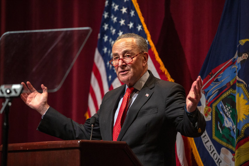 U.S. Sen. Chuck Schumer has championed a coronavirus relief bill that could bring $6 billion in aid to New York state, including $1 billion to New York City alone. The bill was sent to President Trump's desk on Wednesday, and he's expected to sign.