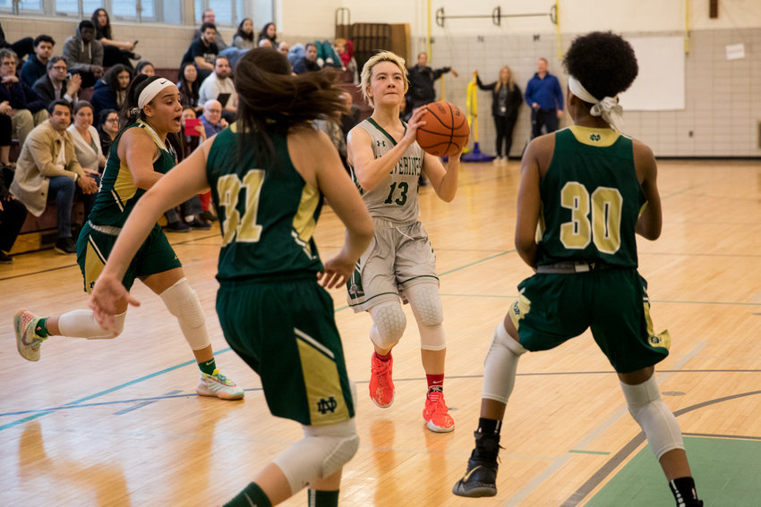 Sarang West did all she could to lead Bronx Science past New Dorp, scoring a team-high 20 points. But the Wolverines ultimately came out on the short end of a 59-46 decision in a PSAL playoff game last week.