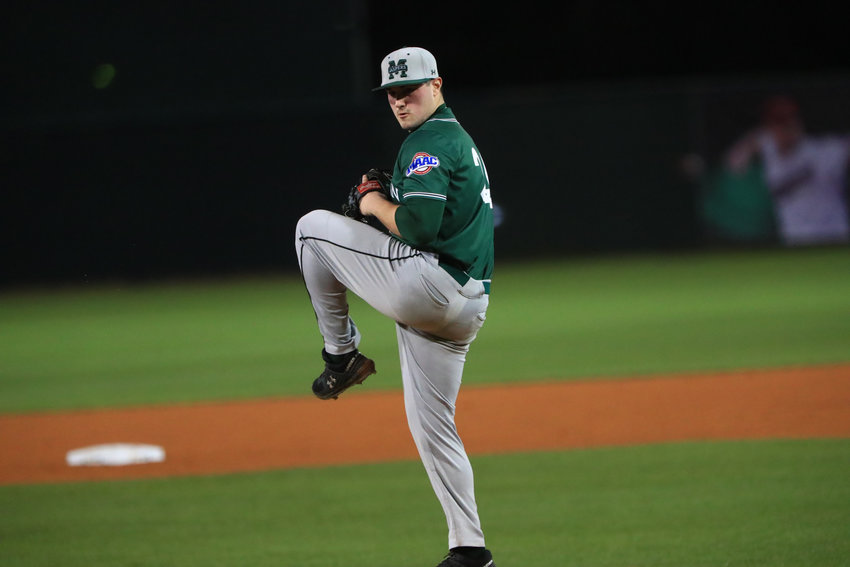 Manhattan right-hander T.J. Stuart saw his senior season cut short due to the coronavirus crisis. Now he has to make a decision on whether to return for one more season, or pursue his dream of playing pro baseball.