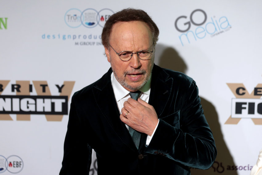 Billy Crystal was one of a handful of celebrities to star in a video for residents at the Hebrew Home at Riverdale. In the video, he plays mahjong at home, and sends his well wishes to Hebrew Home residents.