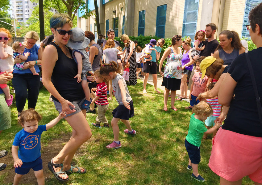 The Riverdale Y's Sunday Market is a community favorite every summer, but its location this year is under some debate since its usual site at Riverdale/Kingsbridge Academy is being disrupted by construction there.