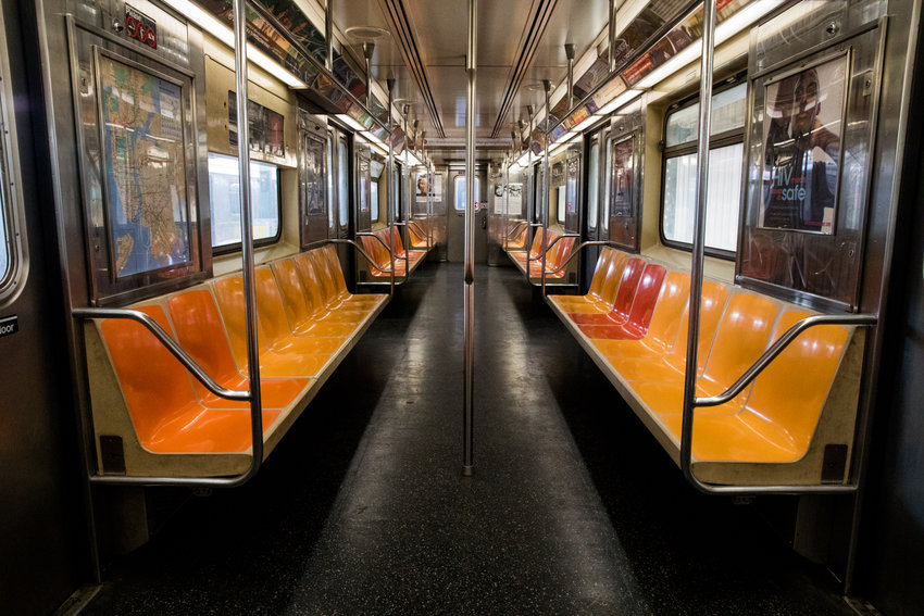 MTA ridership has plummeted since the advent of the coronavirus pandemic, which has led to scaled back service as the agency faces a shortfall of billions of dollars.
