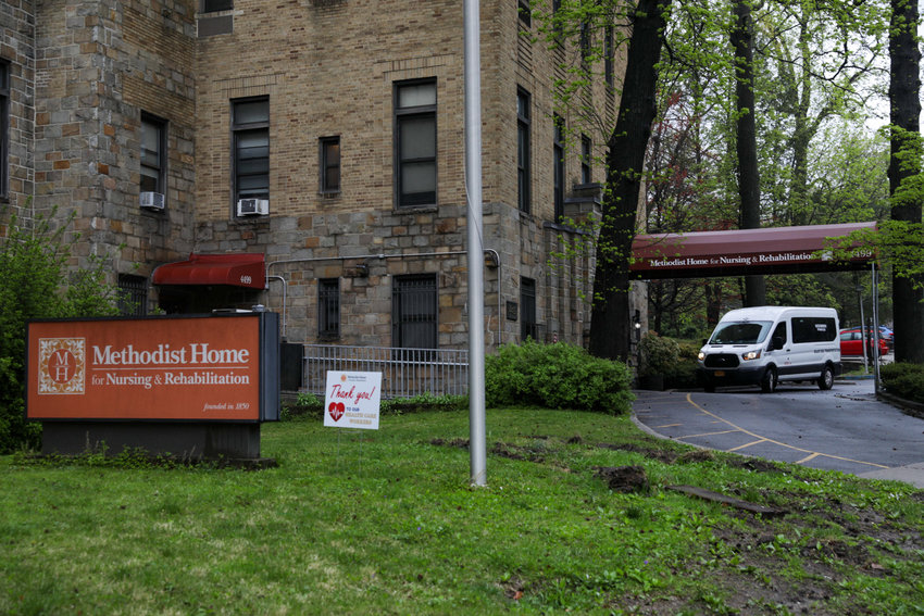 Methodist Home for Nursing & Rehabilitation on Manhattan College Parkway has reported six deaths related to COVID-19 as of April 30.