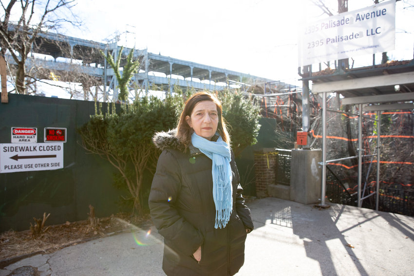 Community activist Stephanie Coggins led the fight to get Bradley Terrace, the step street that runs parallel to where the Villa Rosa Bonheur once stood, co-named for John J. McKelvey Sr., the architect who built the fabled apartment building. Community Board 8 has approved the proposal, but it's on Councilman Andrew Cohen to introduce it to the city council to help make it official.