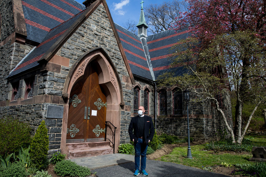 Rev. Andrew Butler, who leads Christ Church Riverdale, has found the reach of his church has grown since moving online following the statewide shutdown due to the coronavirus pandemic. Butler himself has recovered from the virus that causes COVID-19.