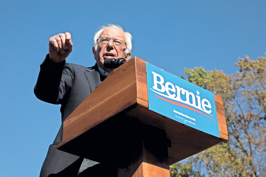 Even though U.S. Sen. Bernie Sanders suspended his presidential campaign, he was still on the New York primary ballot, but state Democratic Party officials decided to cancel the June primary, effectively removing Sanders' from an opportunity to gain any delegates in the state.
